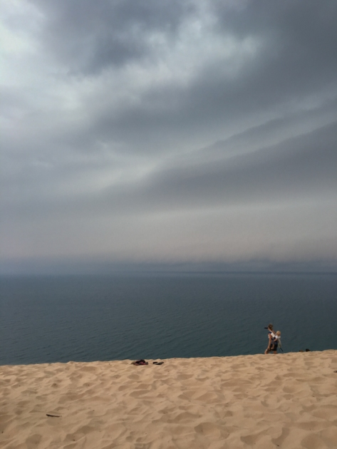 Storm Rising Over Sleeping Bear Dunes National Lakeshore, MI. www.usathroughoureyes.com
