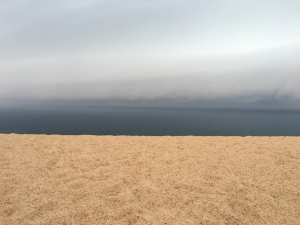 Storm Rising over Sleeping Bear Dunes National Lakeshore, MI.