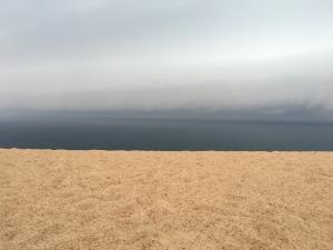 Storm Rising over Sleeping Bear Dunes National Lakeshore, MI.