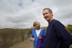 Donna and Dave Hoese at Theodore Roosevelt Natl. Park