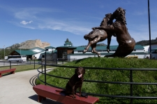 Emma At Crazy Horse Memorial