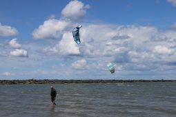 Kite Sailing - Lake Erie, Sandusky, OH