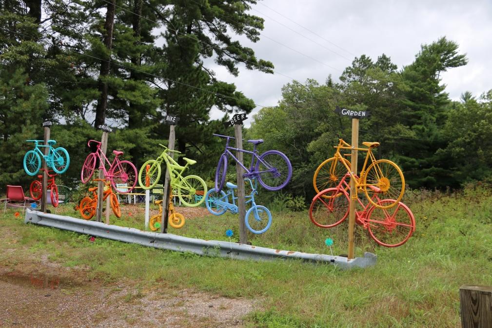 Painted Bikes at Sisters Saloon