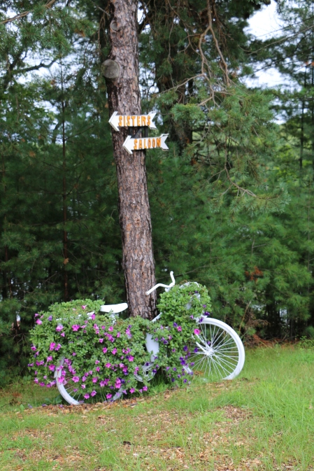 Bicycle at Sisters Saloon