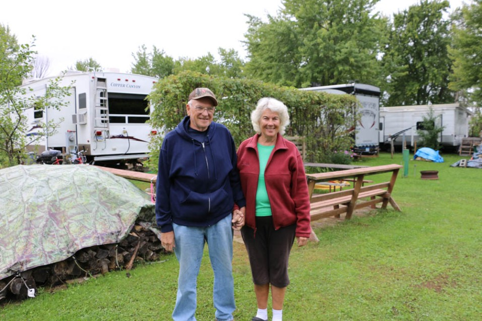 Darryl and Debbie, Swan Lake Campground, www.usathroughoureyes.