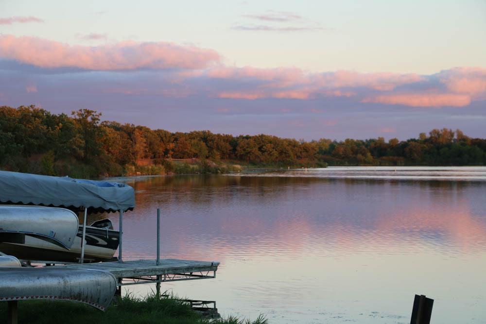 Sunset over Lake Bronson www.usathroughoureyes.com
