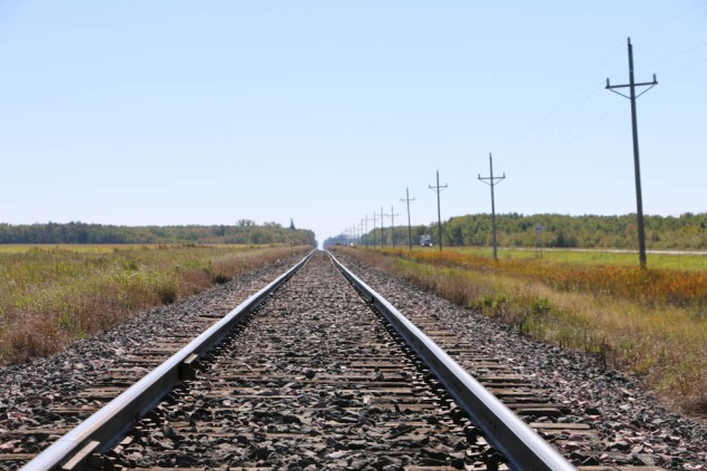 Up the Tracks in ND www.usathroughoureyes.com