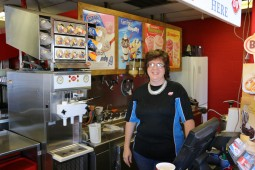 Toni at DQ, Cando, ND www.usathroughoureyes.com
