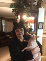 Yoda and her people mommie Ericka