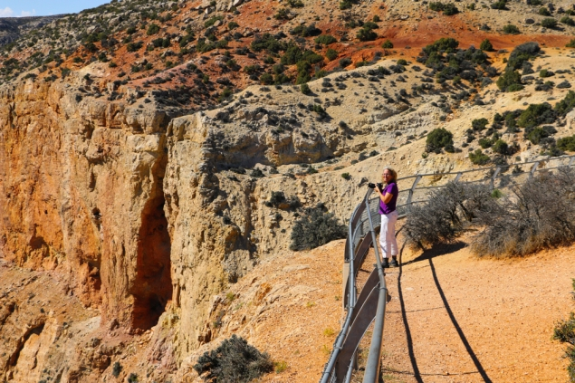 Audrey at Big Horn Canyon www.usathroughoureyes.com