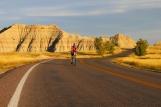 Cycling Through Badlands Natl. Park