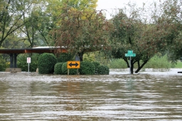 Flood in Charles City IA www.usathroughoureyes.com