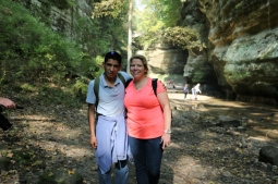 Steve and Tina at Matthiessen State Park www.usathroughoureyes.com