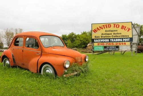 driving along US-2, Bena, MN www.usathroughoureyes.com
