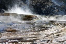 Yellowstone Natl. Park, Mamoth Hot Spring, Wyoming www.usathroughoureyes.com