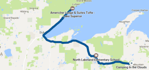 map 10, Florence WI to Tofte MN