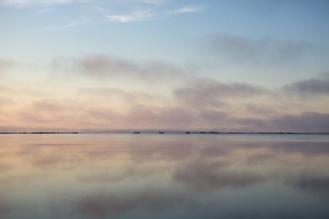 Sunrise from the Fred Howard Park causeway, near Tarpon Springs, FL. / ©2016 Audrey Horn / www.usathroughoureyes.com