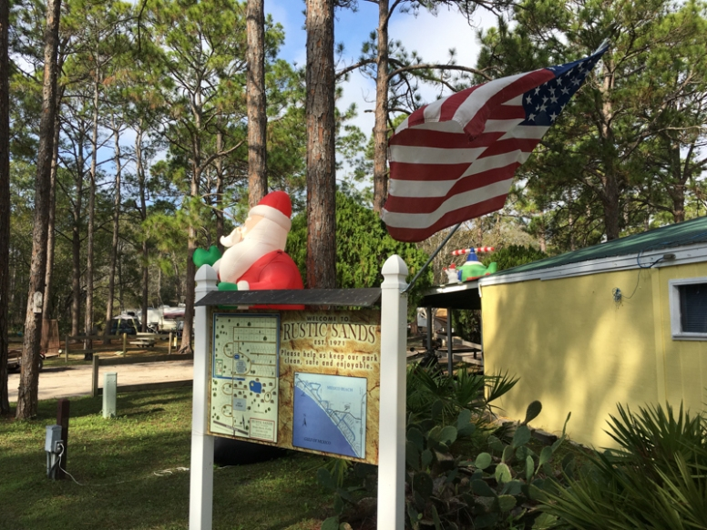 Rustic Sands Campground, Mexico Beach, FL. www.usathroughoureyes.com