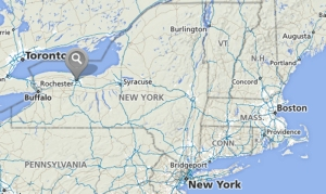 Rochester, NY in Relation to New York State
