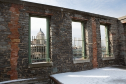 Kodak through Building Remains, High Falls, Rochester, NY. www.usathroughoureyes.com