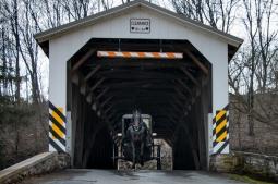 White Rock Forge Covered Bridge, Kirkwood, PA. www.usthroughouresyes.com