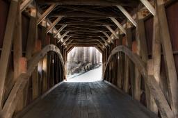 Kutz's Mill Covered Bridge, Lancaster, PA. www.usathroughoureyes.com