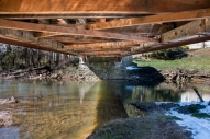 Colemanville Covered Bridge, Lancaster County, PA. www.usathroughoureyes.com