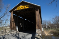 Hunsecker's Mill Covered Bridge, Lancaster County, PA. www.usathroughoureyes.com