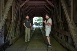 Bunker Hill Covered Bridge, North Carolina. www.usathroughoureyes.com